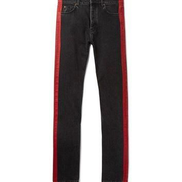 ONETOW balenciaga slim fit denim jeans 2