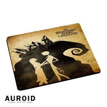 Tim Burton NIghtmare Before Christmas Mousepad Mouse Pads Auroid