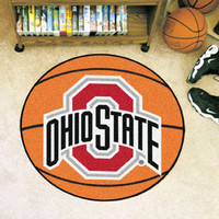 "Ohio State University Basketball Mat 26"" diameter"