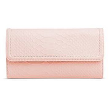 Women's Faux Leather Flap Wallet - Mossimo™