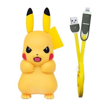 For iPhone Charger, Cute Pikachue USB Phone Charger for iPhone 6 7 8 X Xs Xr Mobile USB Adapter Charger for Samsung for Xiaomi