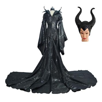 Maleficent Evil Queen Halloween Costume
