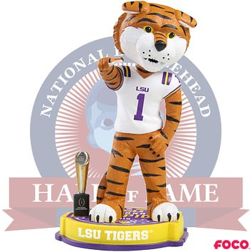 LSU Tigers 2019 NCAA College Football National Champions Bobblehead (Presale)