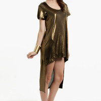 Metallic Tunic Dress $8