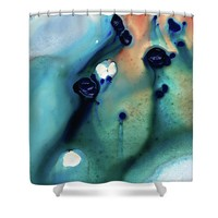 Abstract Art - Hands To Heaven - Sharon Cummings Shower Curtain