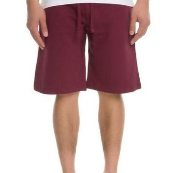 Simply Butter Shorts (Burgundy)