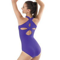 Tank Leotard with Crossover Back Straps; Balera