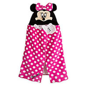 Minnie Mouse Hooded Towel for Baby - Personalizable