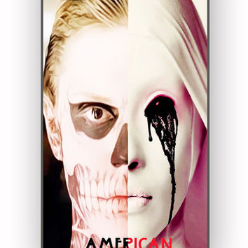 american horror story asylum tate langdon Design for iPhone 4/4S Case *