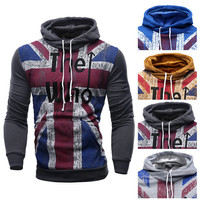 "UK Style ""The Who"" Designer Pullover Hoodie"