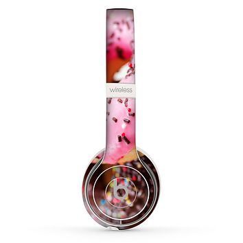 The Sprinkled Donuts Skin Set for the Beats by Dre Solo 2 Wireless Headphones