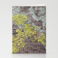 Colors on Rocks Stationery Cards by Jessie Flori