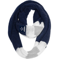 Women's Team Beans Dallas Cowboys Infinity Scarf - NFLShop Exclusive!