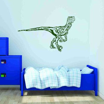 Velociraptor Wall Decal