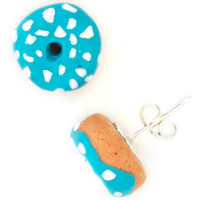 Go With the Donut Earrings | Mod Retro Vintage Earrings | ModCloth.com