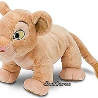 """Licensed cool NEW Disney Store EXCLUSIVE. Lion King 11"""" Plush Simba Girlfriend NALA Doll Toy"""