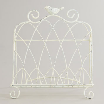 White Bird Cookbook Holder - World Market