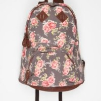 Carrot Floral Patch Backpack