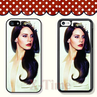 Lana Del Rey, iPhone 5 case iPhone 5c case iPhone 5s case iPhone 4 case iPhone 4s case, Samsung Galaxy S3 \S4 Case --X51141