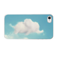 Elephant iPhone Case Cloud iPhone Case by AmyTylerPhotography