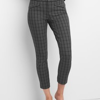 Plaid skinny ankle pants | Gap