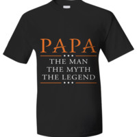 PAPA - The Man. The Myth. The Legend. T-Shirt papatheman2