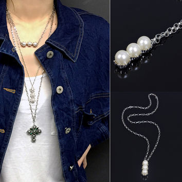 Shiny New Arrival Gift Jewelry Accessory Stylish Pearls Necklace [7271812039]