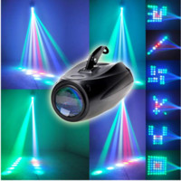 RGBW Pattern Stage Light 64Led Auto n Voice-activated  Projector Lighting DJ 20W