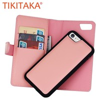 Multifunction Wallet Case For Iphone 7 7 Plus Cover Fashion Leather Flip Phone Pouch With Card Slots zipper Stand Holder Fundas
