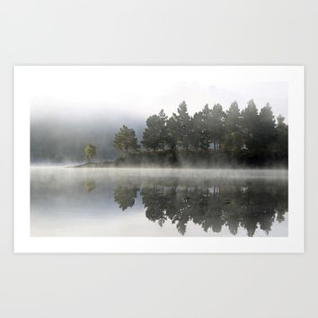 Reflections of a mood Art Print by anipani