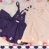 Kawaii Neko Strap Dress SD00386