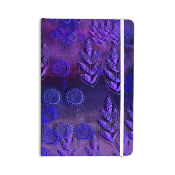 "Marianna Tankelevich ""Summer Night"" Purple Lavender Everything Notebook"