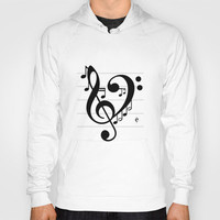 Love Music II Hoody by Richard Casillas | Society6