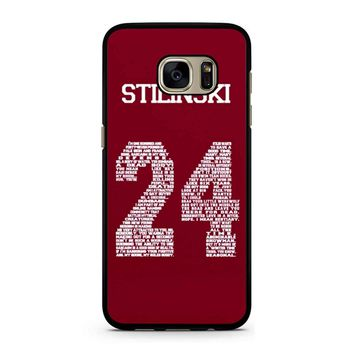 Stiles Quote Jersey Stilinski Samsung Galaxy S7 Case