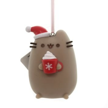 Holiday Ornaments MEOWY CHRISTMAS PUSHEEN Plastic Department 56 Pvc 4060366