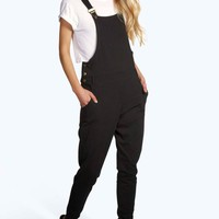 Caley Casual Ponte Dungarees