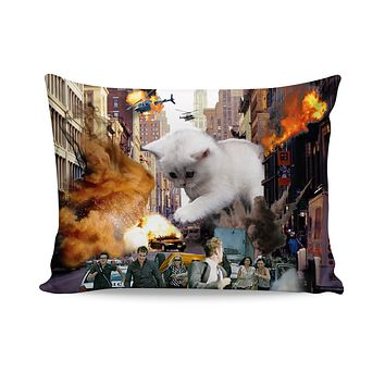 Rampage Cat Pillow Case