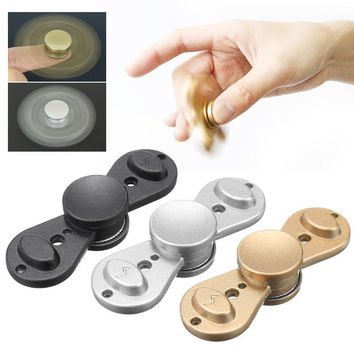 VIP Droplets Rotating Fidget Hand Spinner ADHD Autism Fingertips Fingers Gyro Reduce Stress