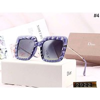 DIOR 2019 new women's concave and convex large frame driving polarized sunglasses #4