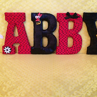 Disney Girls Room Decor-Minnie Mouse Theme by Tightly Wound Designs