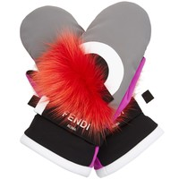 Bag Bugs fox-fur ski gloves | Fendi | MATCHESFASHION.COM US