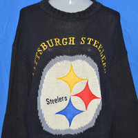 90s Pittsburgh Steelers Sweater Women's Extra-Large