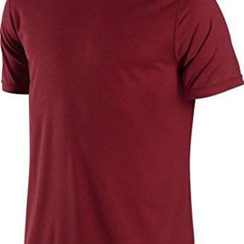Nike Men's Legend Dri-FIT(tm) Poly Short Sleeve Crew Top Team Red T-Shirt XL