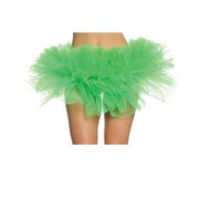 Leg Avenue Organza Tutu Adult Halloween Costume Accessory, Green