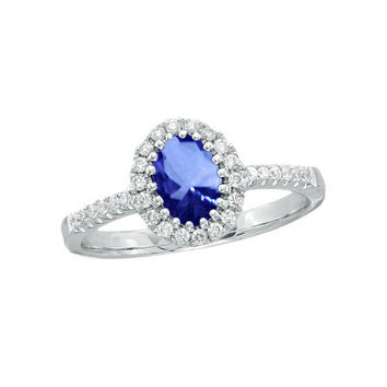 5.60 carat diamonds tanzanite ring solitaire with accents gold white new