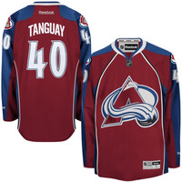 Alex Tanguay Colorado Avalanche Reebok Premier Player Jersey – Burgundy