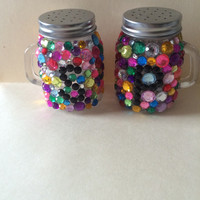 Rhinestone Salt and Pepper Shaker Set