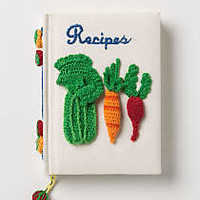 Serve & Tell Crocheted Recipe Journal