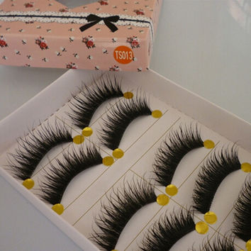 New Natural Long Thick Eye Lashes Party False Eyelashes Eye Lashes Makeup HB = 5987853121