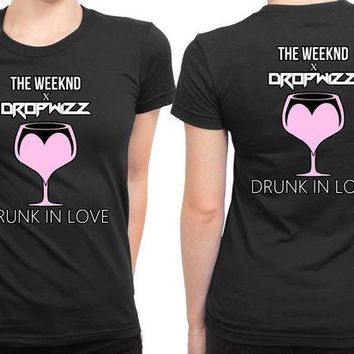 VONEED6 The Weeknd Drunk In Love 2 Sided Womens T Shirt